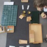 Montessori Orcas Bead box
