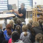 Orcas listening to simultaneous storytime